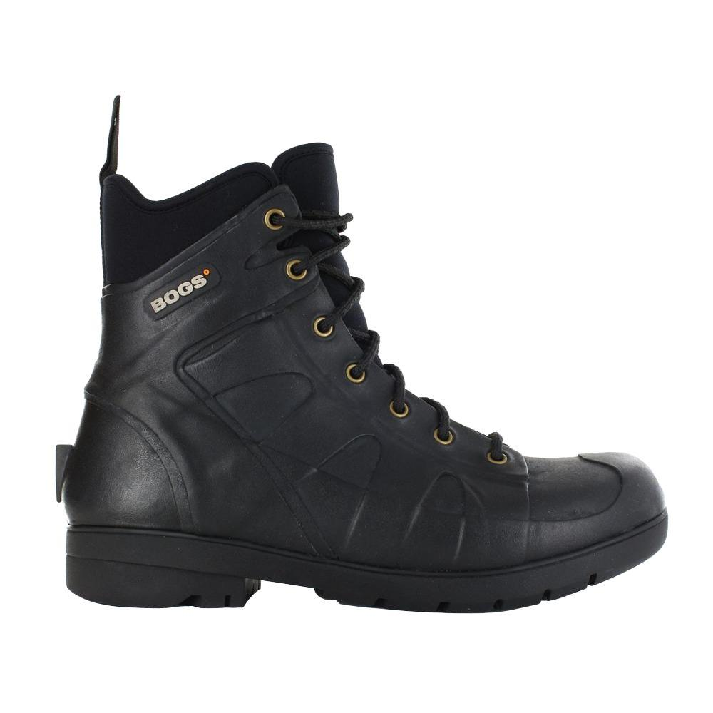 Turf Stomper Steel Toe Men 7 in. Size 7 Black Waterproof Rubber Ankle Boots Sale $149.95 SKU: 205848122 ID: 603246358876 UPC: 603246358876 :