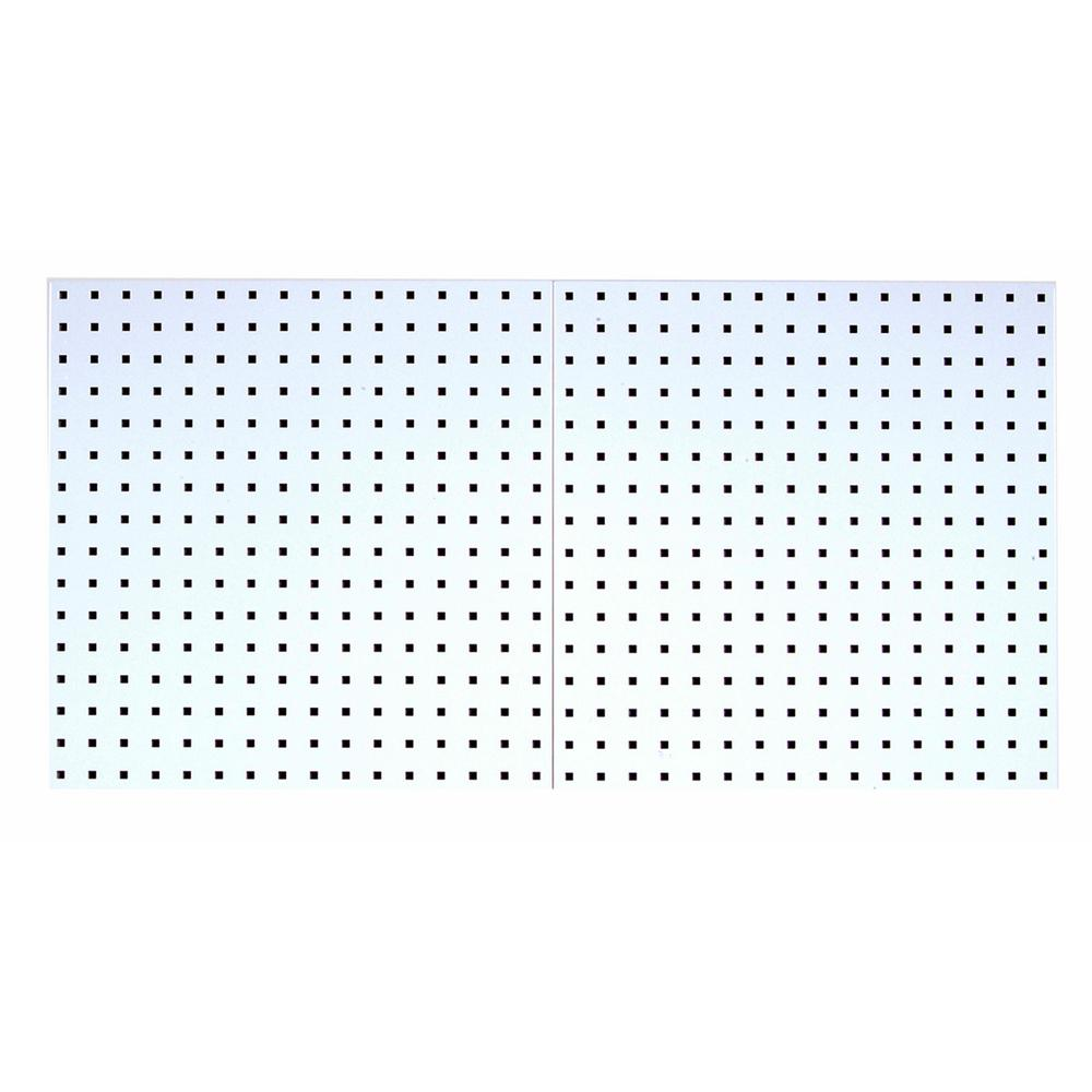 3/8 in. White Pegboard Wall Organizer