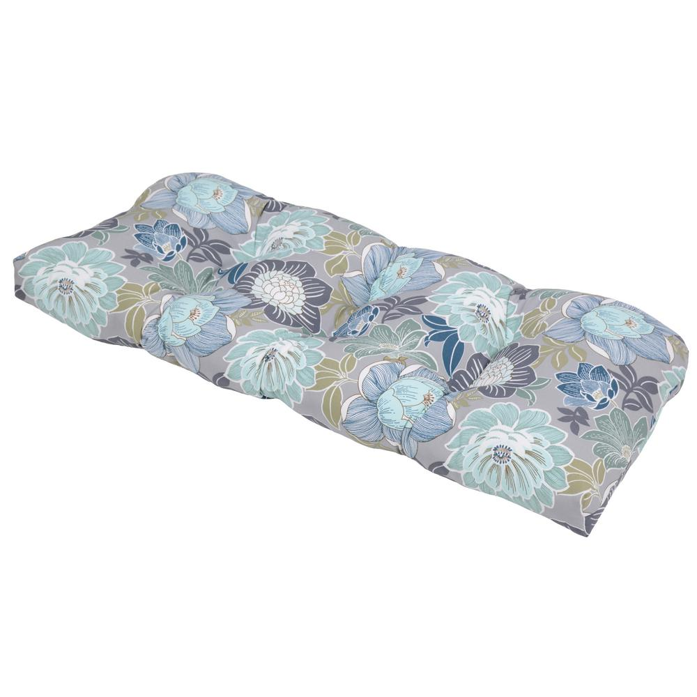 Charleston Floral Outdoor Settee Cushion