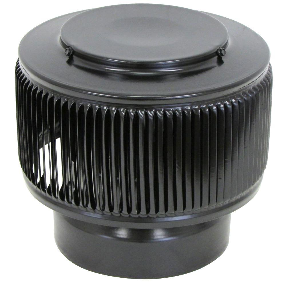 Aura PVC Vent Cap 6 in. Dia Exhaust Vent with Adapter