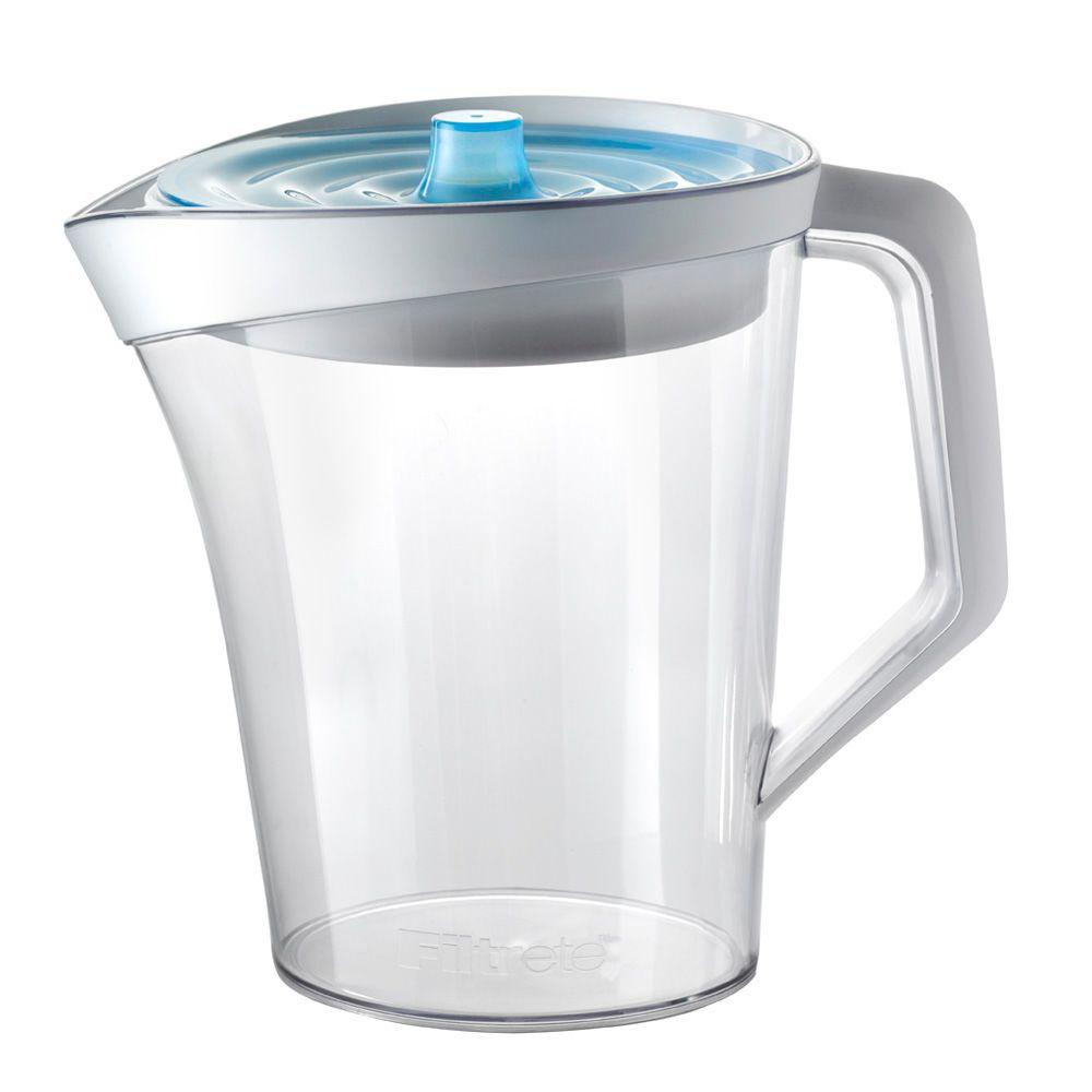 Filtrete 12 Cup Capacity White Water Pitcher