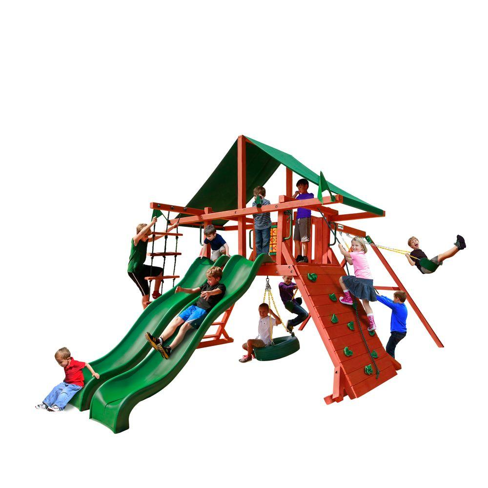 Gorilla Playsets Sun Valley Extreme Swing Set-01-0041-1 - The Home Depot