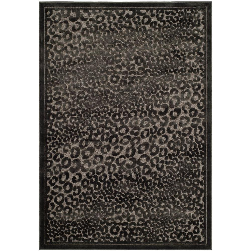 Paradise Charcoal/Multi 4 ft. x 5 ft. 7 in. Area Rug