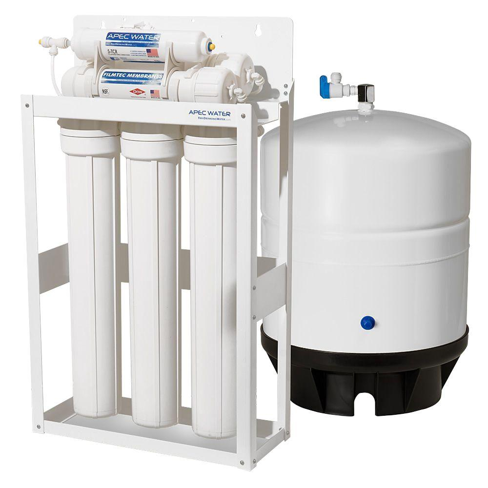Ultimate Reverse Osmosis 180 GPD Commercial-Grade Drinking Water Filtration System