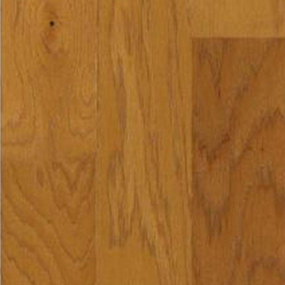 Shaw Take Home Sample - Appling Caramel Hickory Engineered Hardwood Flooring - 5 in. x 7 in.