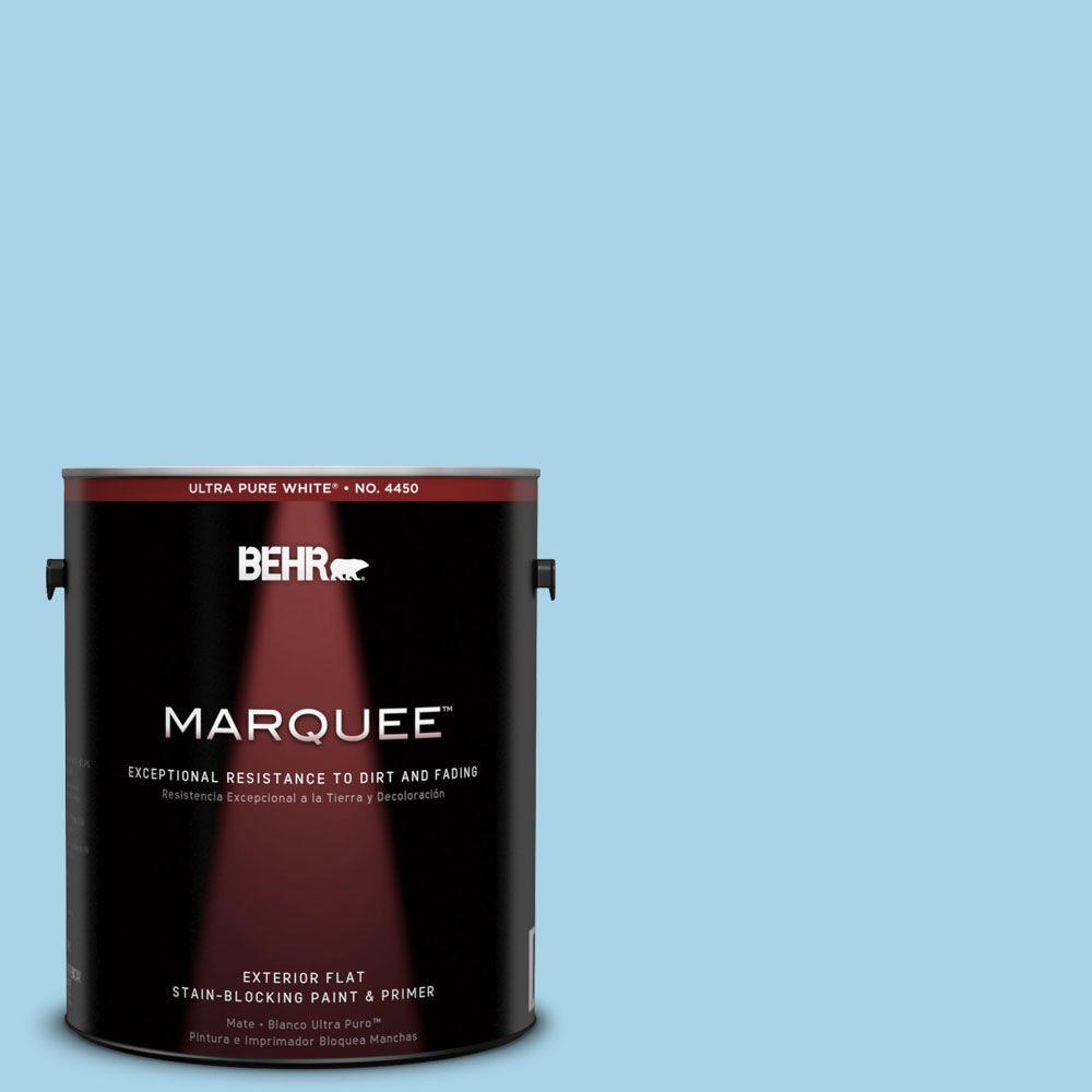 BEHR MARQUEE 1-gal. #550C-3 Monaco Flat Exterior Paint-445001 - The Home