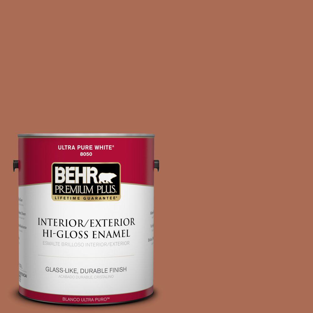 1-gal. #BIC-45 Airbrushed Copper Hi-Gloss Enamel Interior/Exterior Paint