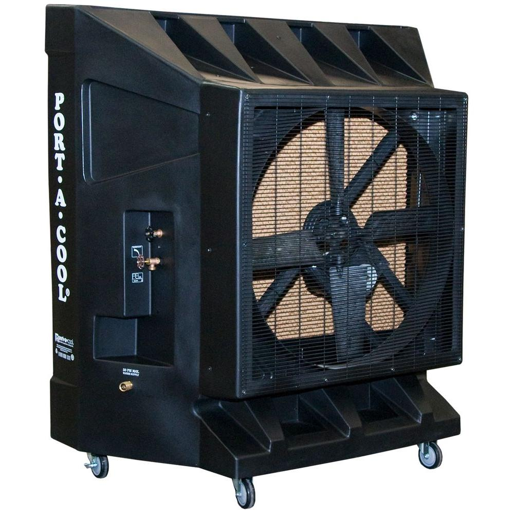 PORTACOOL 9600 CFM 1-Speed Portable Evaporative Cooler for 2500 sq.