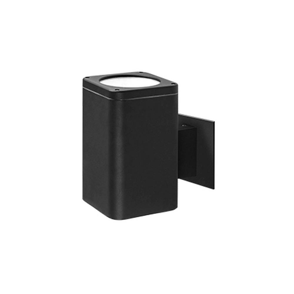 Addison Black Outdoor Integrated LED Wall Mount Sconce