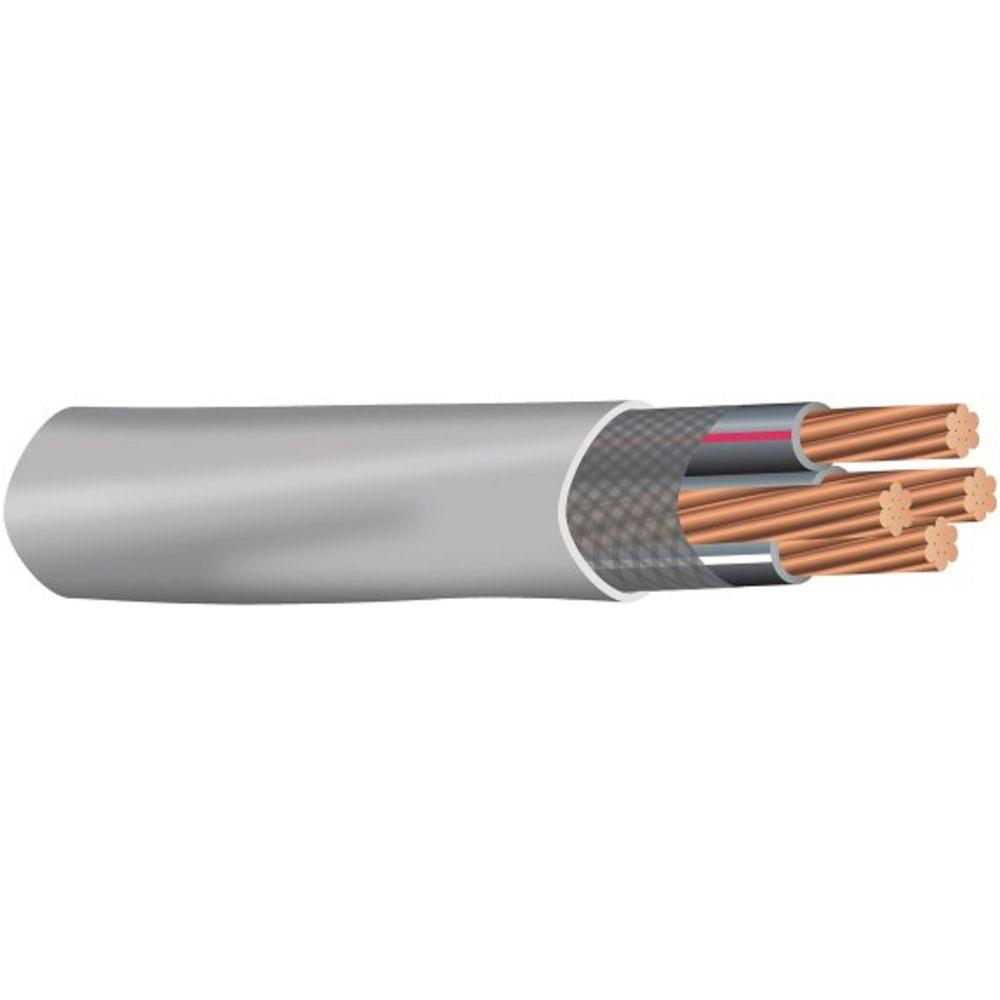 Southwire (By-the-Foot) 2/0-2/0-2/0-1 Gray Stranded CU SER Cable-27083599 - The