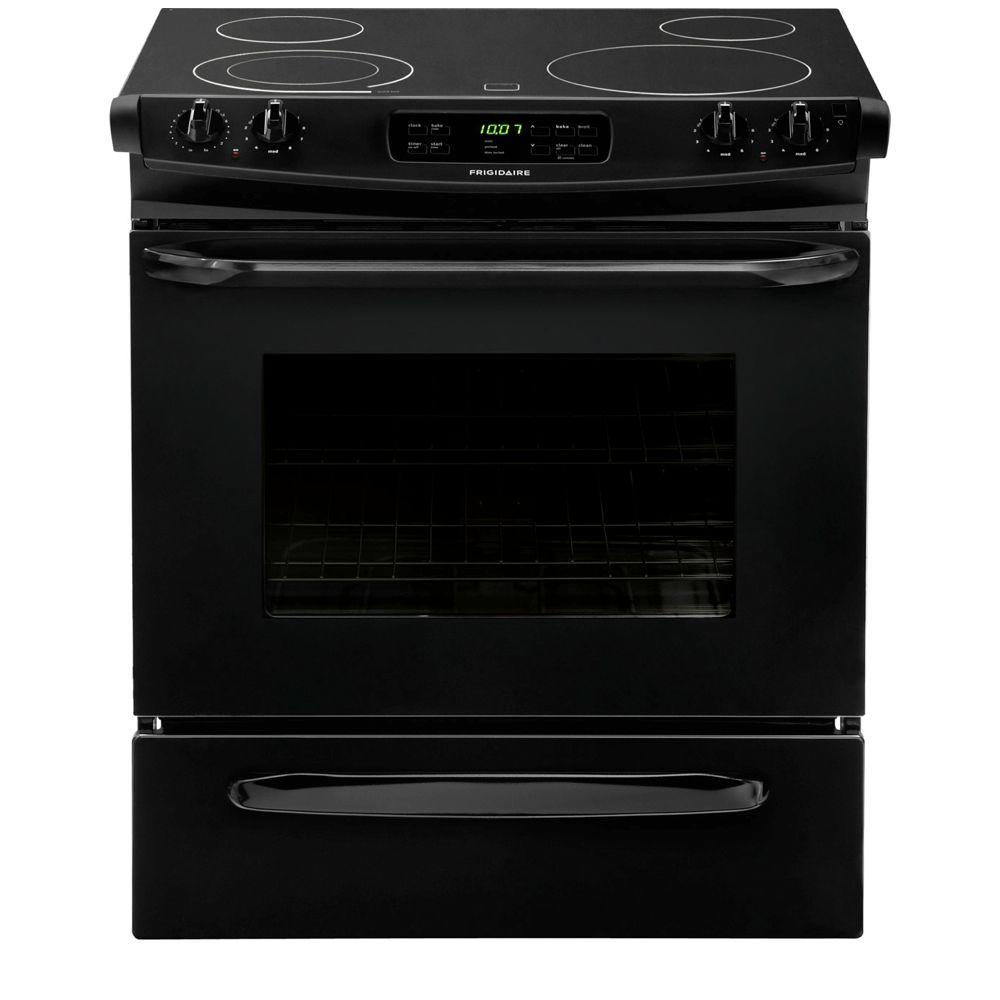 Frigidaire 30 In 4 6 Cu Ft Slide In Electric Range With