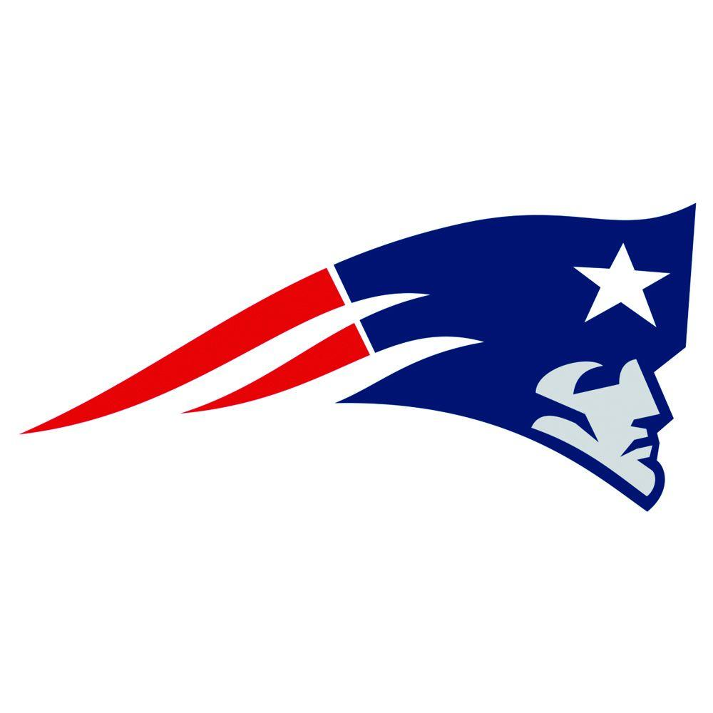 Fathead 58 in. x 28 in. New England Patriots Logo Wall Decal