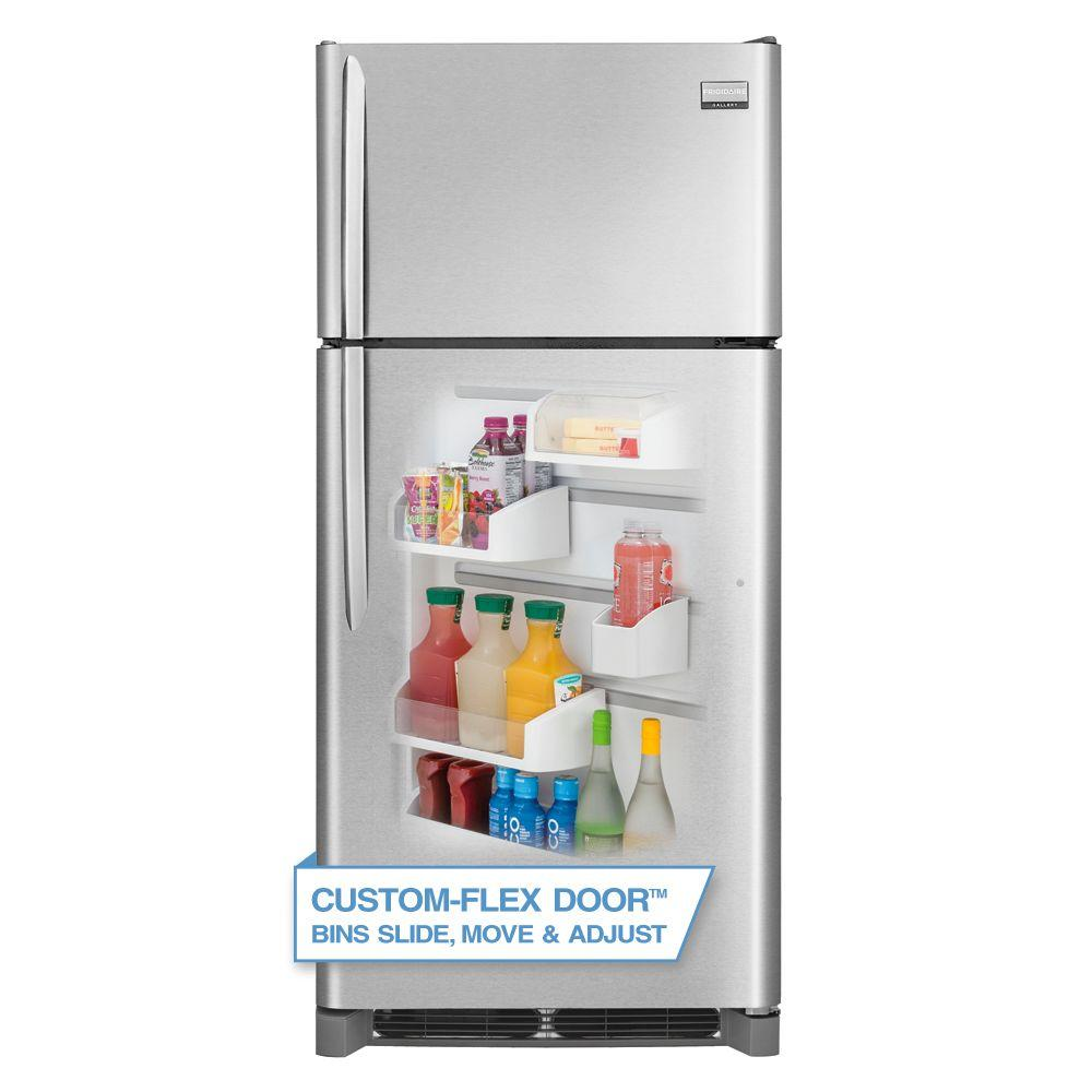 Frigidaire Gallery 18.1 cu. ft. Top Freezer Refrigerator in Smudge Proof