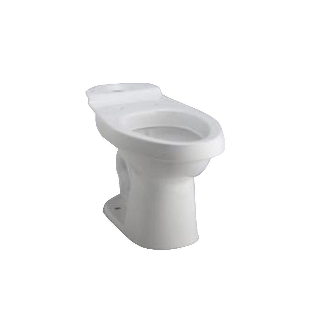 STERLING Karsten Elongated Toilet Bowl Only in White-402086-0 - The Home