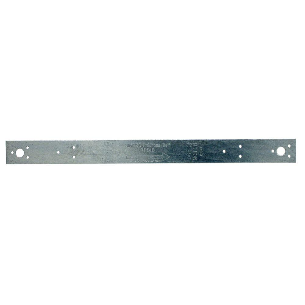 Simpson Strong-Tie 16-Gauge 18-5/16 in. Retrofit Plate Strap