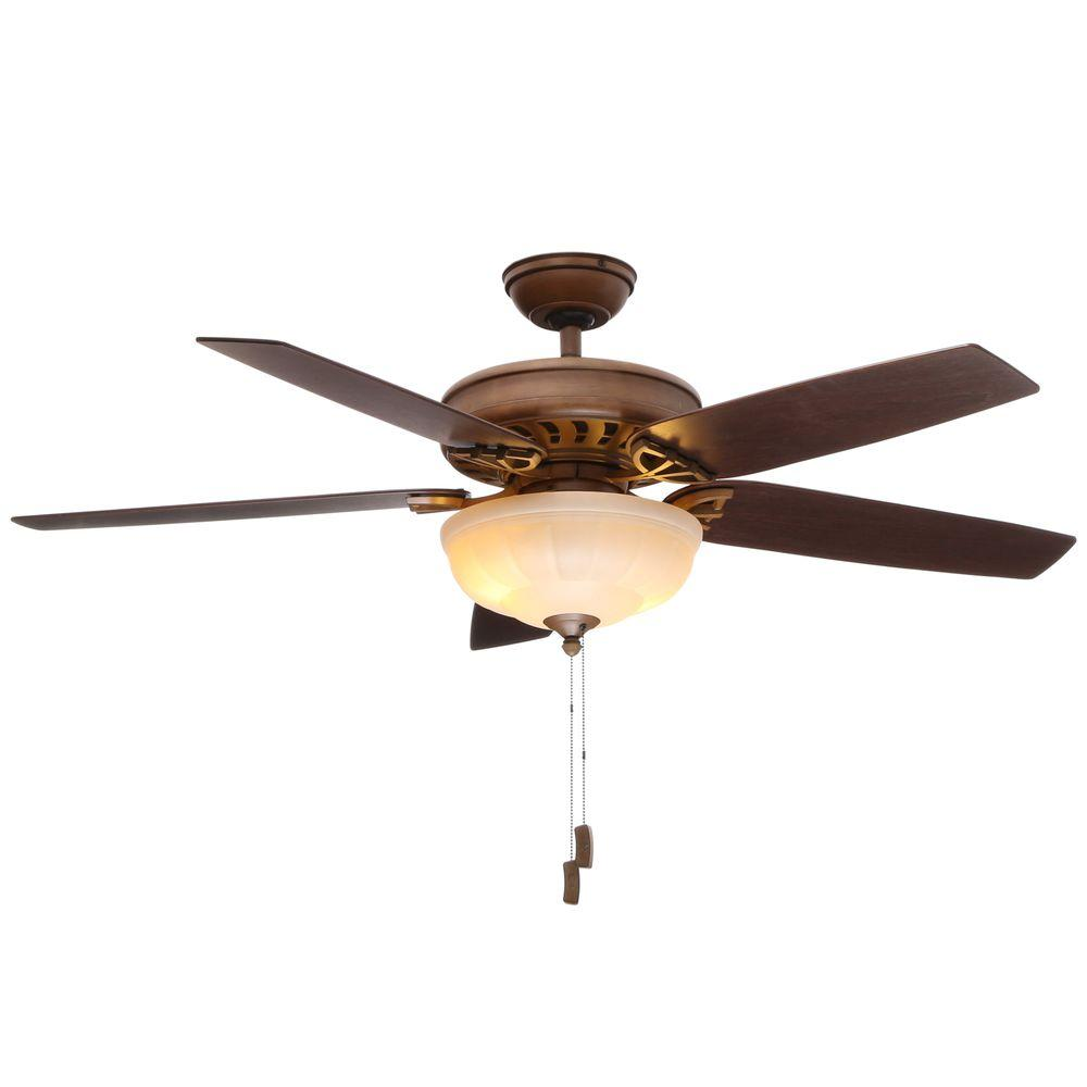 Concentra Gallery 54 in. Indoor Acadia Ceiling Fan with Light