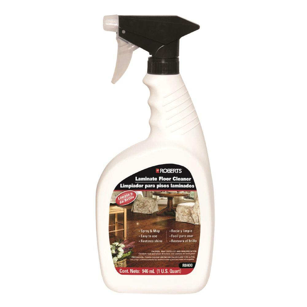 32 oz. Laminate and Wood Floor Cleaner Spray Bottle