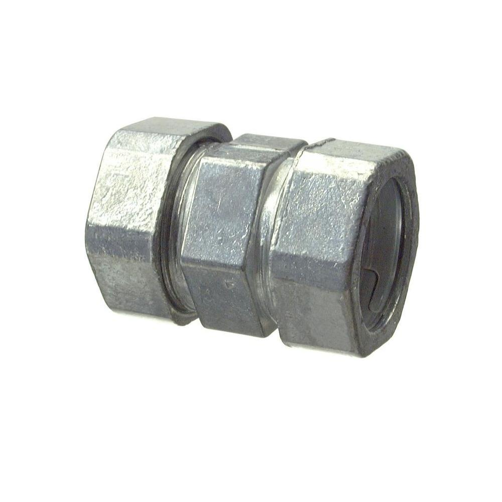 1 in. Electrical Metallic Tube (EMT) Compression Coupling