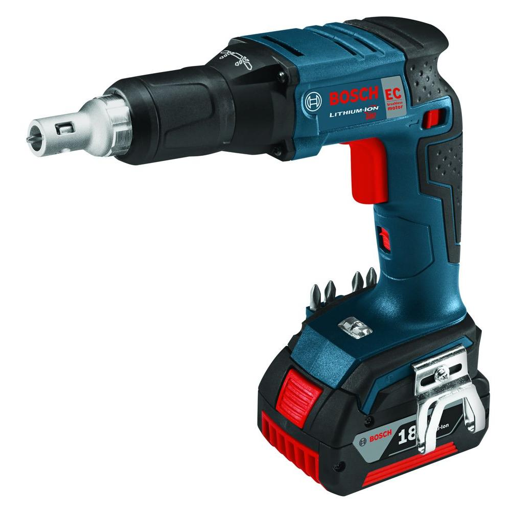 Bosch 18 Volt Lithium-Ion Cordless EC Brushless Screw Gun (Tool-Only)-SGH182B -
