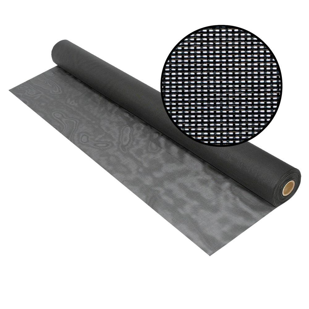 Phifer 84 in. x 100 ft. Charcoal Solar Insect Screen