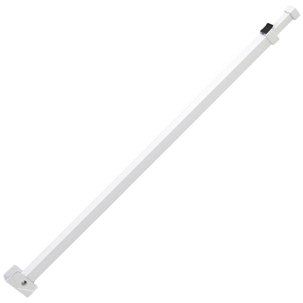 IDEAL Security White Patio Door Security Bar