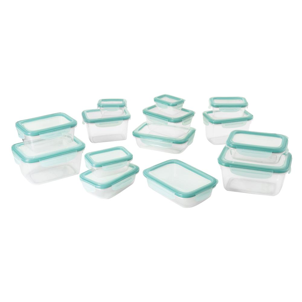 28-Piece SNAP Plastic Container Set