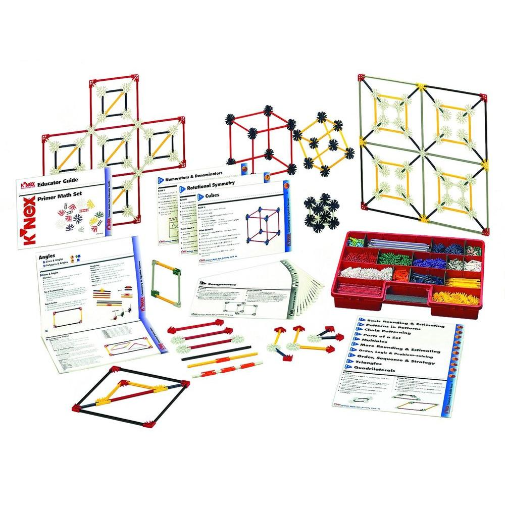 K'NEX Education Intermediate Math and Geometry Building Set