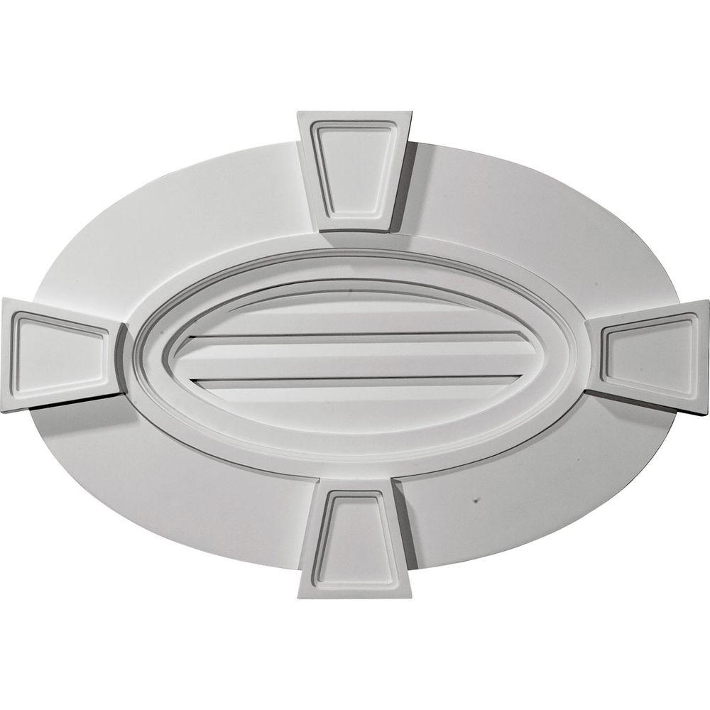 2-1/4 in. x 29 in. x 20 in. Functional Horizontal Oval