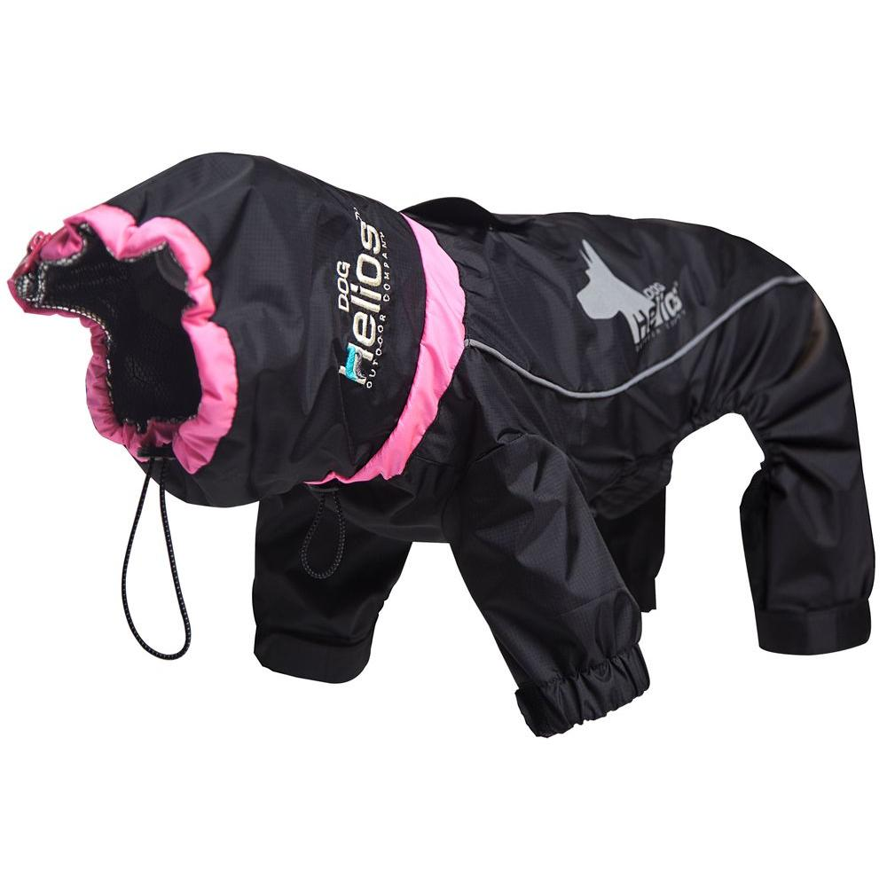 Small Black Weather-King Ultimate Windproof Full Bodied Pet Jacket