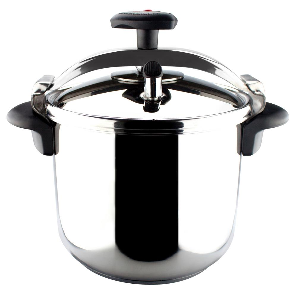 Magefesa Star 8 Qt. Stainless Steel Stovetop Pressure Coo...