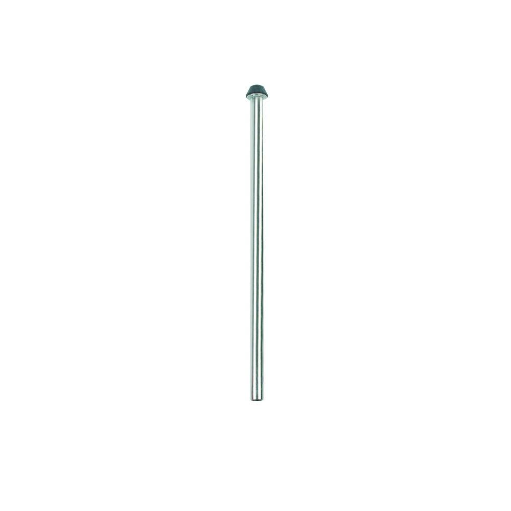 1/2 in. O.D. x 12 in. Copper Toilet Riser with Heavy