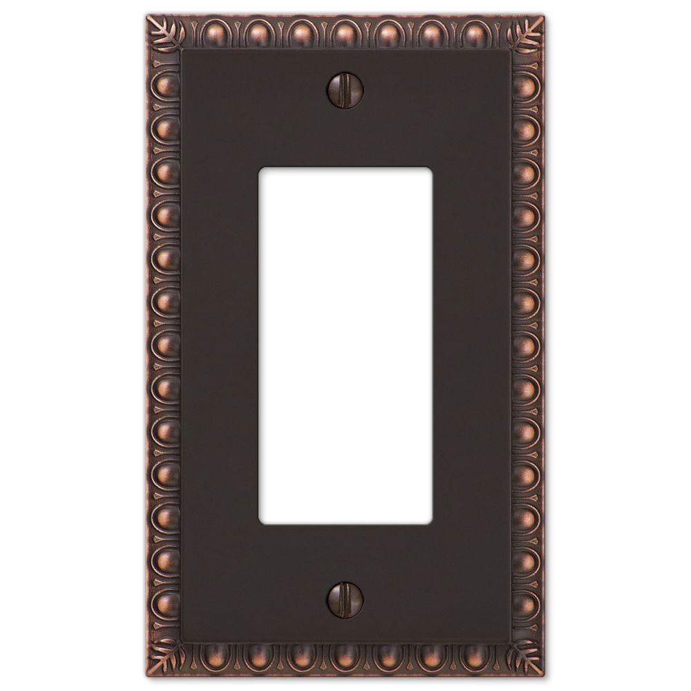 Antiquity 1 Decora Wall Plate - Aged Bronze Cast