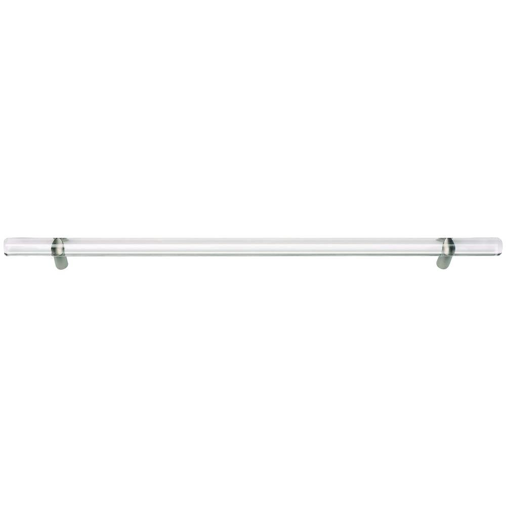 Optimism Collection 14.37 in. Brushed Nickel Large Pull