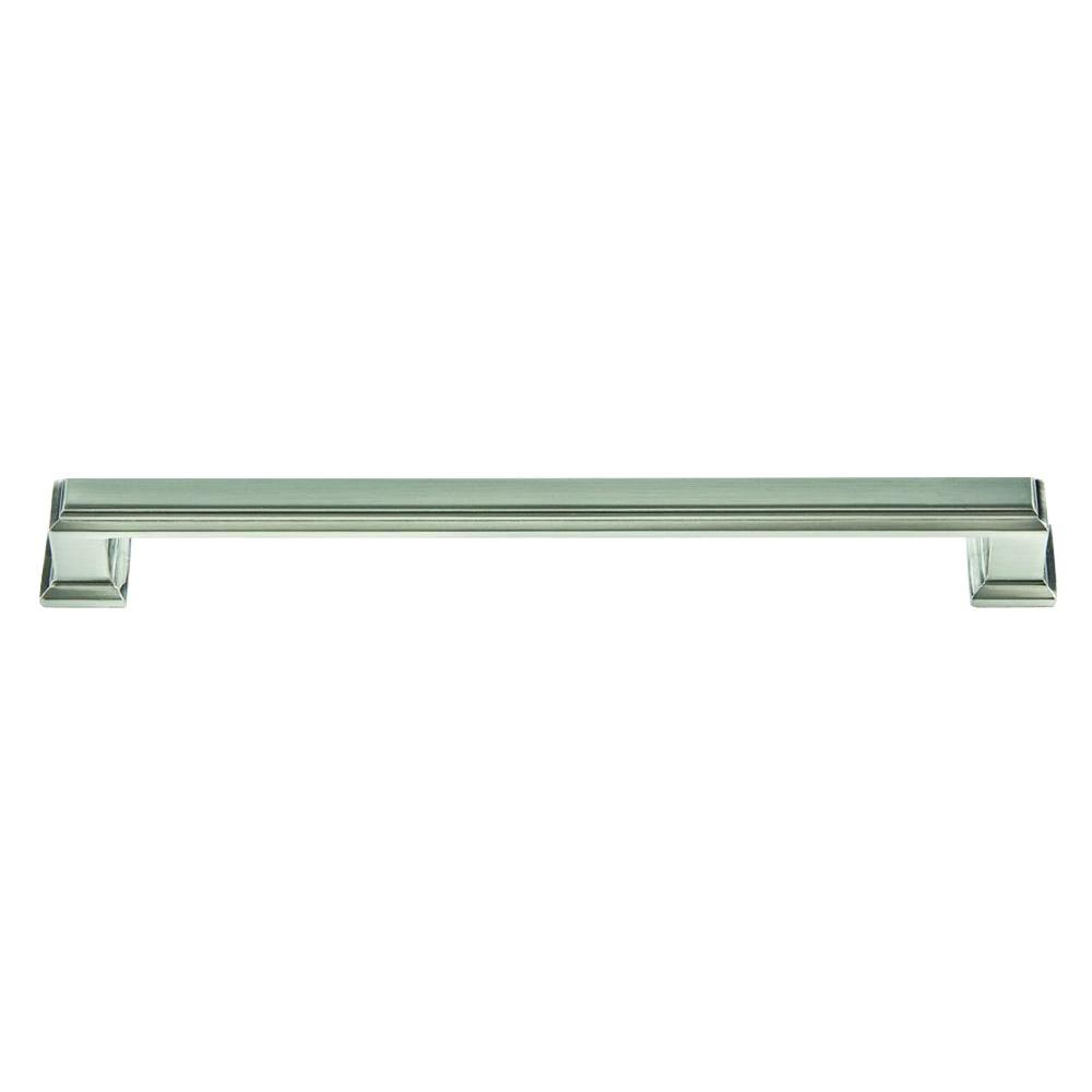 Atlas Homewares Sutton Place Collection 8.4 in. Brushed Nickel Mega Pull-293-BRN