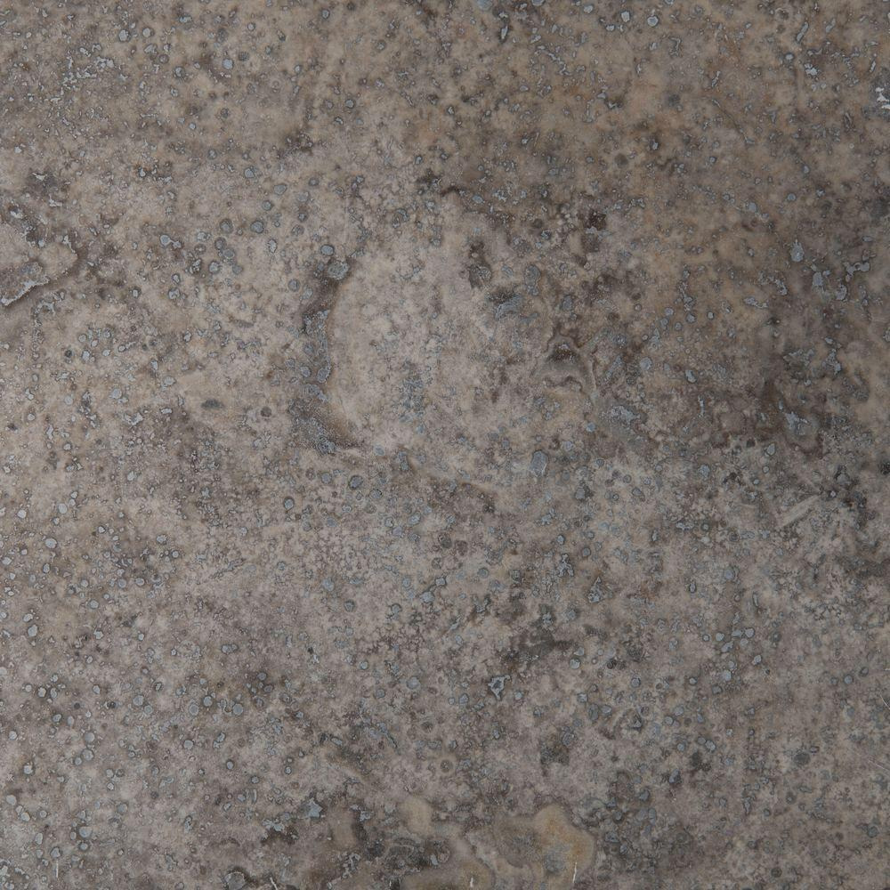 MS International Silver 12 in. x 12 in. Honed Travertine Floor and Wall Tile (10 sq. ft. / case)