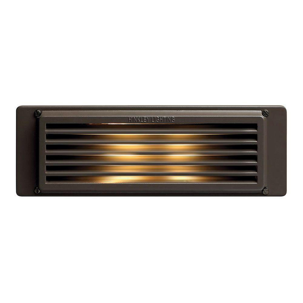 8 in. 3.8-Watt LED Bronze Step and Stair Deck Light
