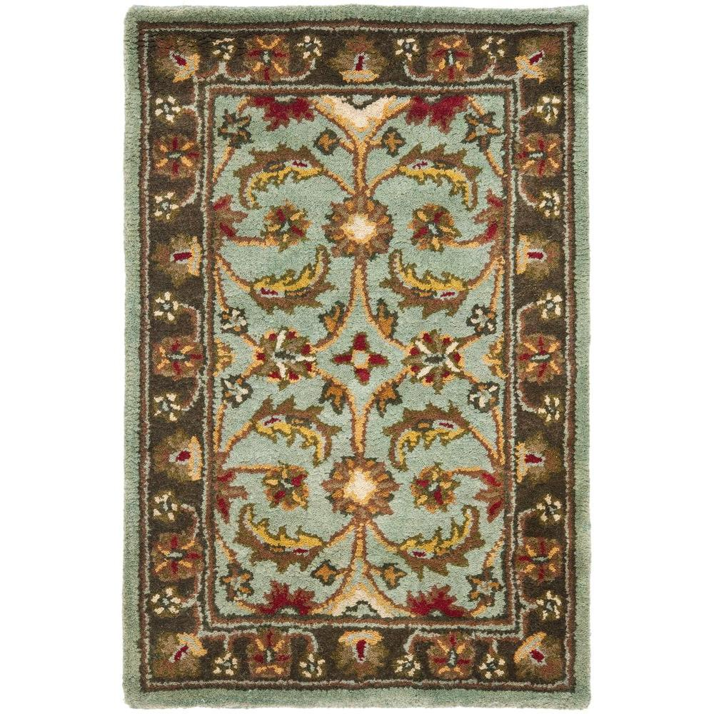 Safavieh Heritage Blue/Brown 3 ft. x 5 ft. Area Rug