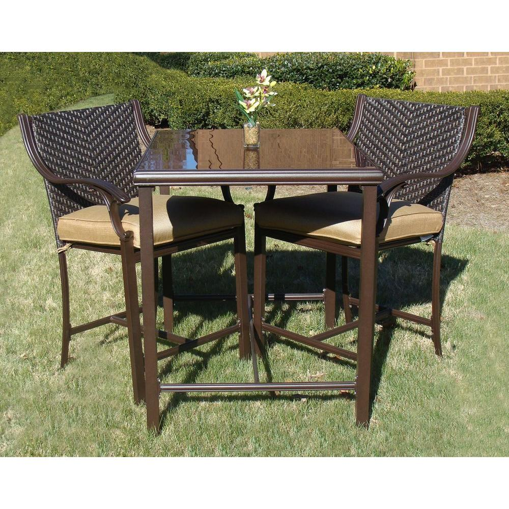 null Belview 3-Piece Patio Bistro Set-DISCONTINUED