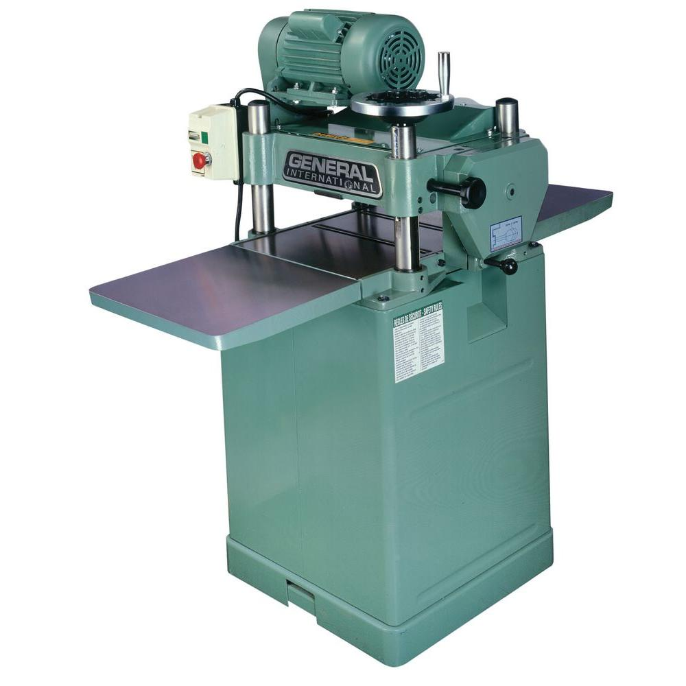 General International 15-Amp 15 in. Single Surface Planer