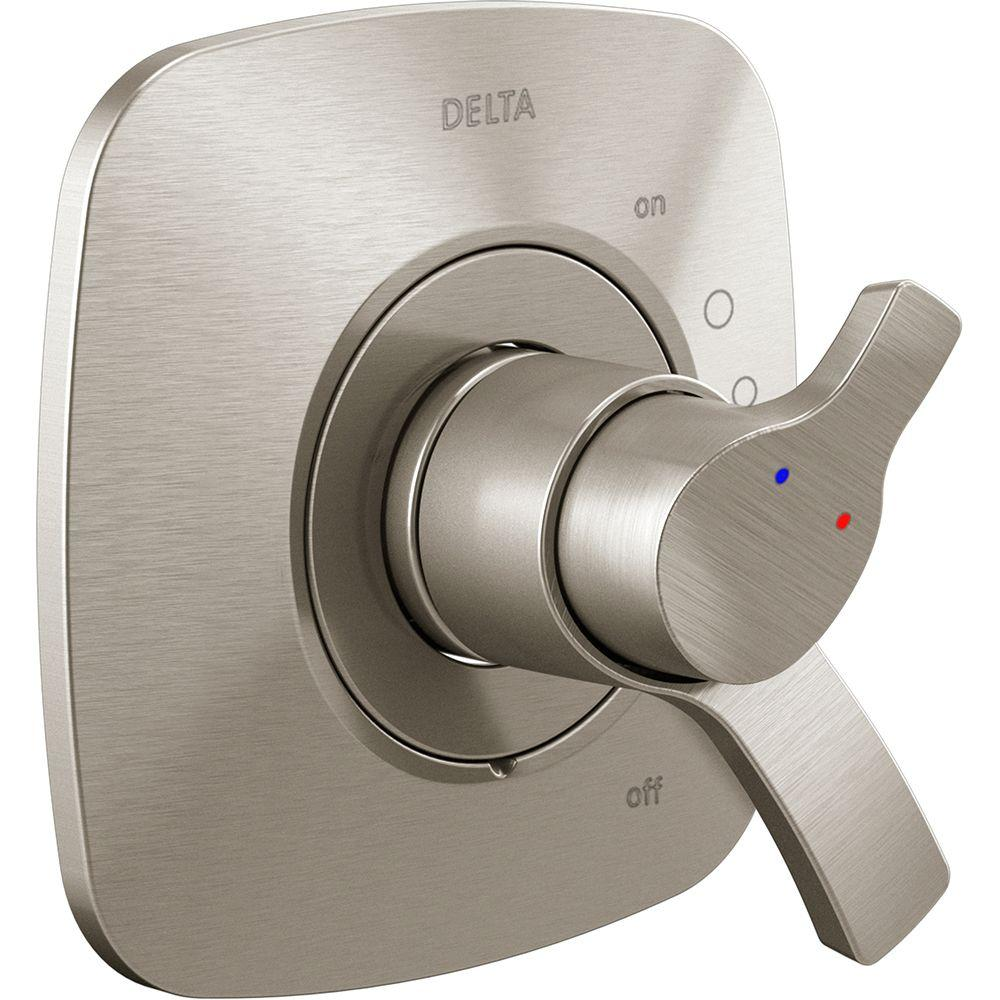 Delta Tesla TempAssure Single-Handle Volume and Temperature Control Valve Trim