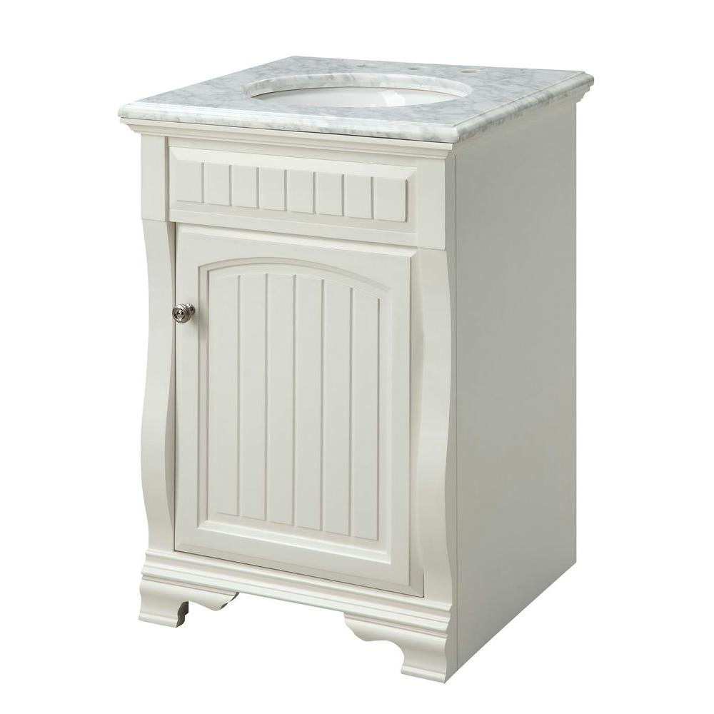 Pegasus 24 in. Vanity Cabinet Only in White