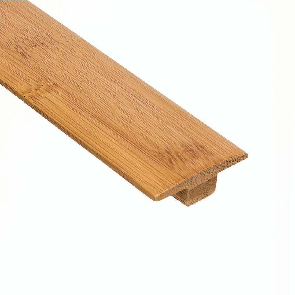 Home Legend Horizontal Toast 3/8 in. Thick x 2 in. Wide x 47 in. Length Bamboo T-Molding