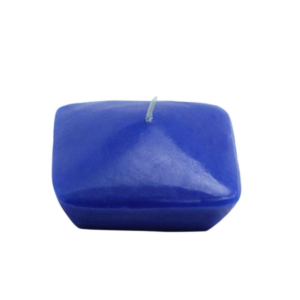 3 in. Blue Square Floating Candles (6-Box)