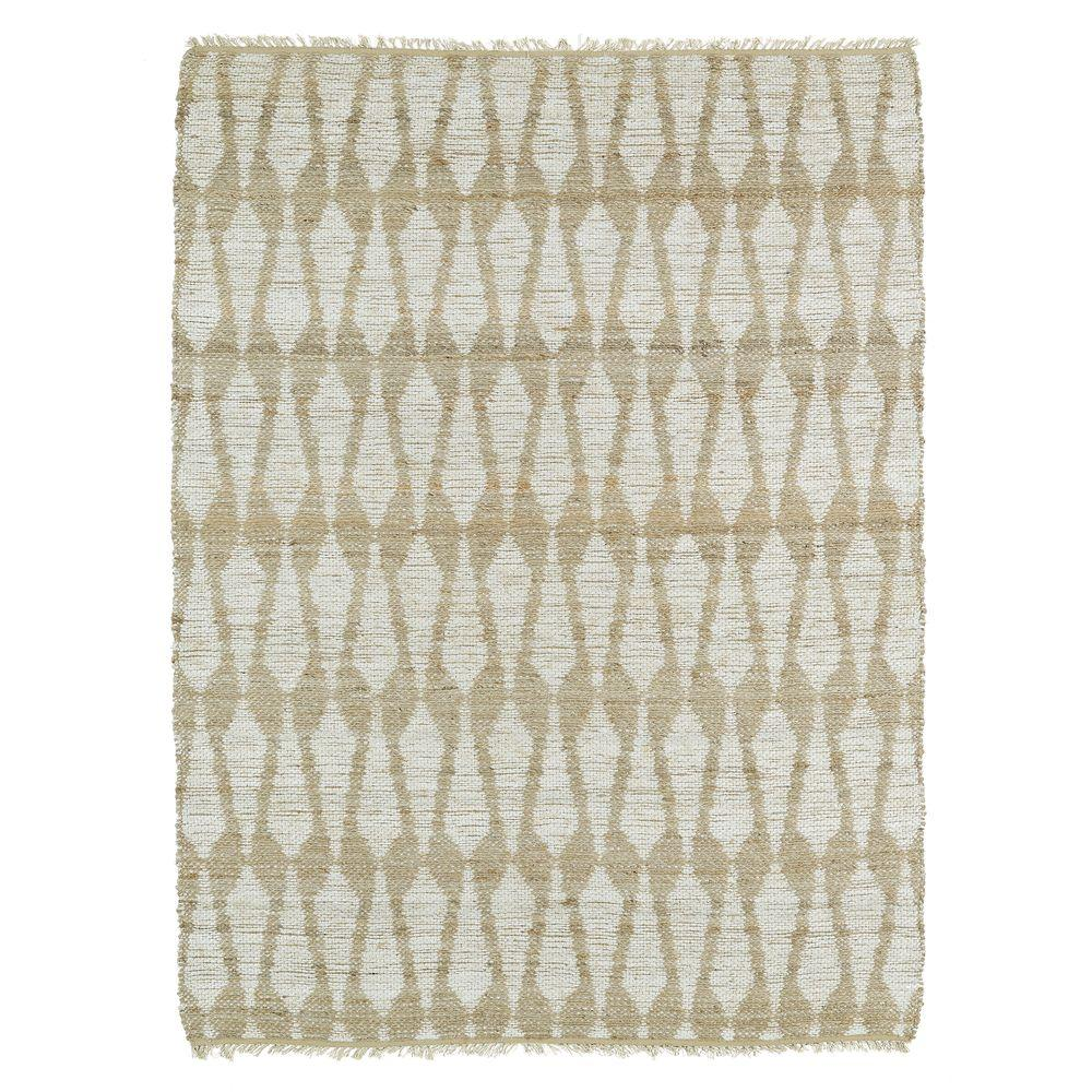 Kaleen Kenwood Ivory 3 ft. 6 in. x 5 ft. 6 in. Double Sided Area Rug