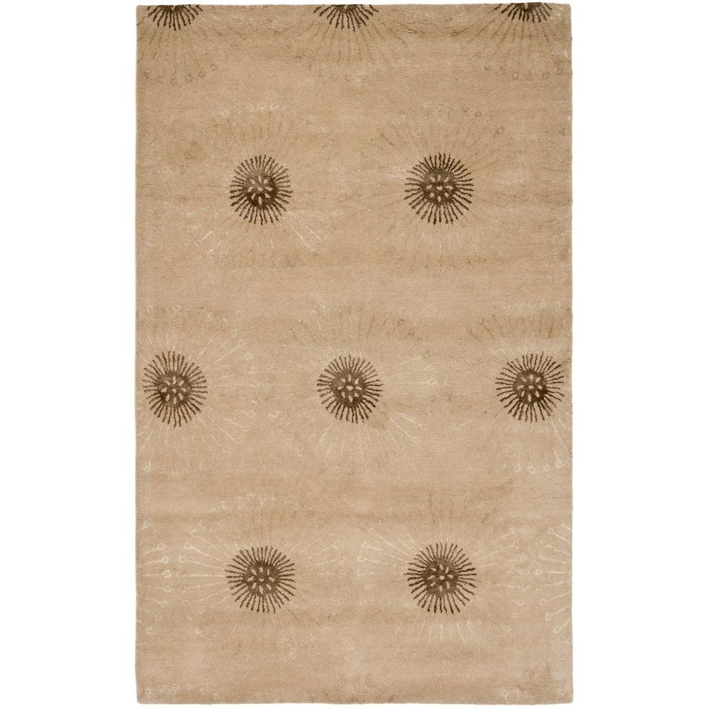 Safavieh Soho Beige/Brown 5 ft. x 8 ft. Area Rug-SOH821A-5 -