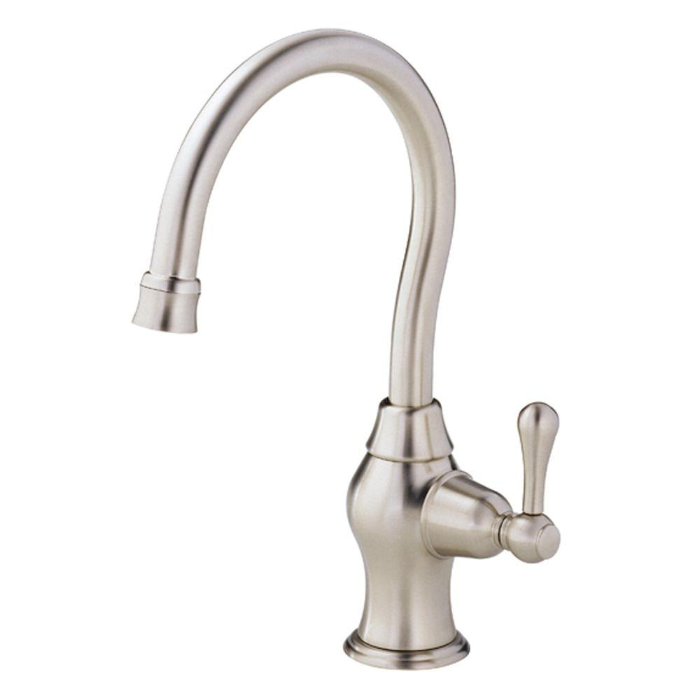 Danze Melrose Single-Handle Kitchen Faucet in Stainless Steel