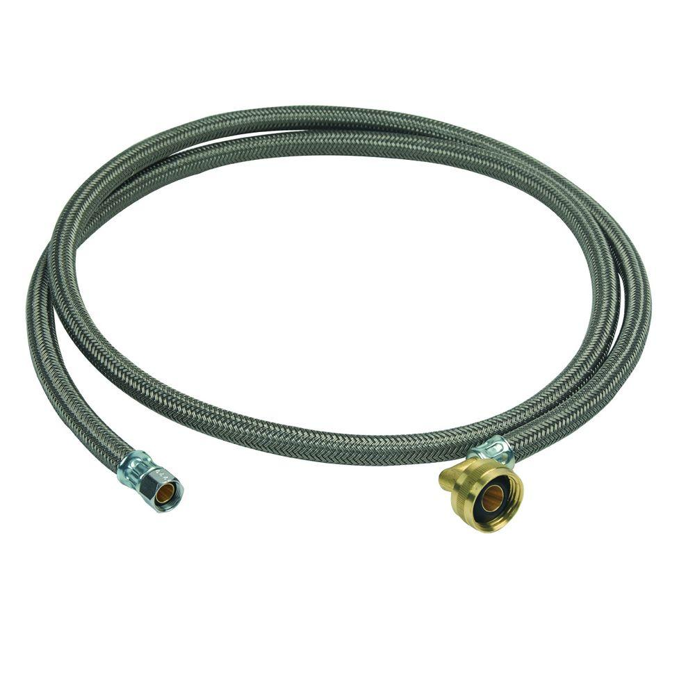 3/8 in. Compression x 3/4 in. Garden Hose Swivel Elbow x