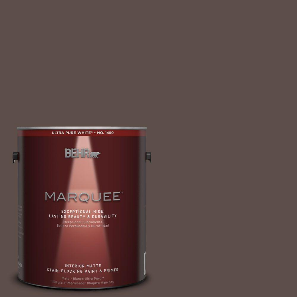 BEHR MARQUEE 1 gal. #MQ2-35 Cabin in the Woods One-Coat Hide Matte Interior Paint