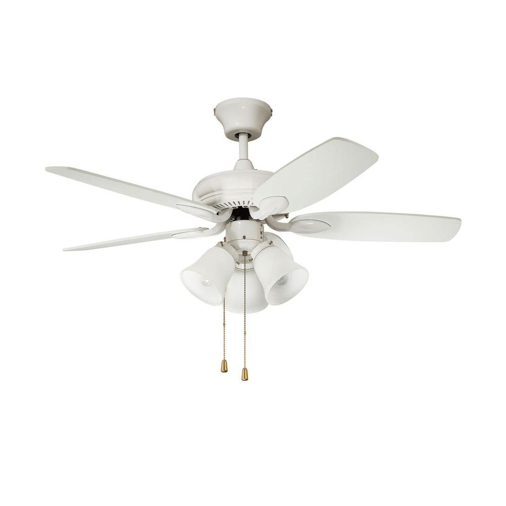 Filament Design Cassiopeia 42 in. White Indoor Ceiling Fan