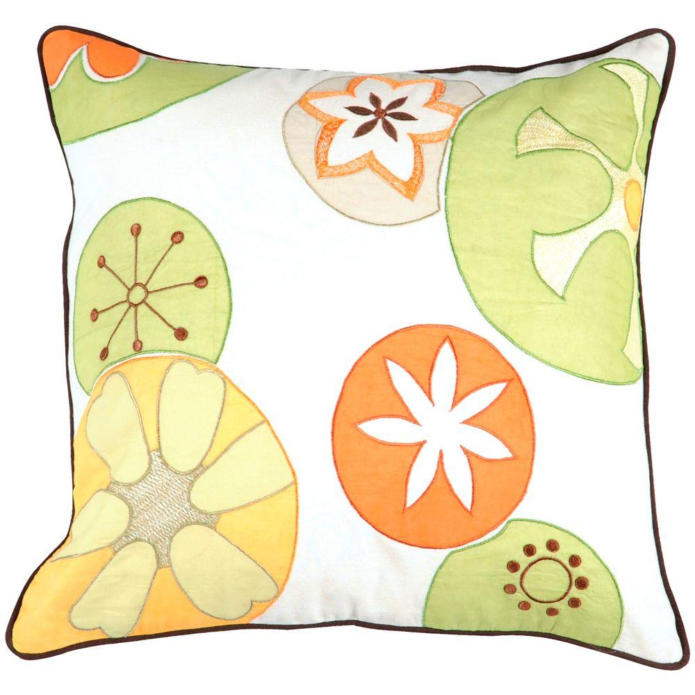 Artistic Weavers Fun 18 in. x 18 in. Decorative Pillow-DISCONTINUED
